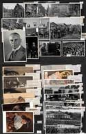 LOTTI E COLLEZIONI - Cartoline - Germania/Nazismo - Insieme Di 9 Cartoline Illustrate + 52 Figurine Ricordo - Da Esamina - Non Classificati