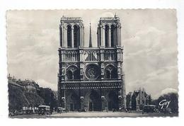 CPSM Paris - Notre-Dame Et Le Parvis - Notre Dame De Paris
