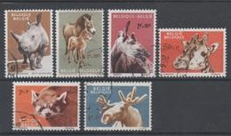 Belgique  1961 - COB 1182/87 Obl. - België