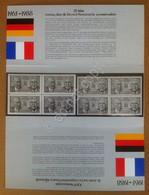 Francobolli Emissione Congiunta 1988 Quartine 25° Cooperazione Francia Germania - Otros - Europa