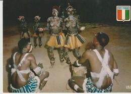 C.P. - PHOTO - RÉPUBLIQUE DE LA COTE D'IVOIRE - GROUPE DE DANSE YACOUBA -5343 - - Côte-d'Ivoire