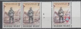 COB 1367 X 2 & 1381  **  Du 17.04.1966 & 11.07.1966 - Belgio