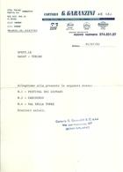 """3368 """"CARTARIA G. GARANZINI & C.-MILANO"""" 7 BOZZE PER STAMPA CARTOLINE INVIATE ALLA S.A.C.A.T. DI TORINO"""" ORIGINALE - Italy"""