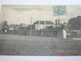 C.P.A.- Saint Ciers De Taillon (17) - La Gare - Arrivée Du Train Du Gare - 1904- SUP (BF16) - France
