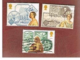 GRAN BRETAGNA (UNITED KINGDOM) -  SG 1367.1370  -  1987 ANNIVERSARY OF QUEEN VICTORIA' S ACCESSION     - USED - 1952-.... (Elizabeth II)