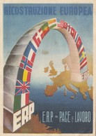 RICOSTRUZIONE EUROPEA   /  E.R.P. - Eventi