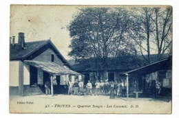 Troyes - Quartier Songis - Les Cuisines (animation) Circulé 1925, Provient D'un Carnet - Troyes