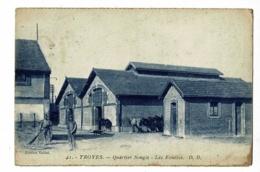 Troyes - Quartier Songis - Les Ecuries (animation, Chevaux) Circulé 1926, Provient D'un Carnet - Troyes