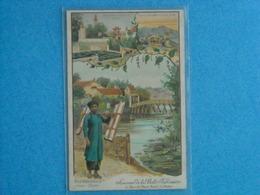 Nos Colonies (Indo-Chine) Souvenir De La Belle Jardiniére, 2 Rue Du Pont Neuf - PARIS - Advertising