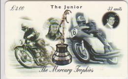 #08 - ISLE OF MAN-16 - STANLEY WOODS & GIACOMO AGOSTINI - THE JUNIOR - MOTORBIKE - Man (Eiland)