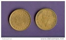 HONG KONG 1948-1950 Used Coin 10 Cents  KM25 - Hongkong