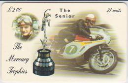 #08 - ISLE OF MAN-18 - MIKE HAILWOOD - THE SENIOR - MOTORBIKE - Man (Eiland)