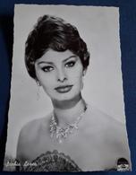 Sophia Loren - Portrait - Alte Starpostkarte (spk2) - Actors