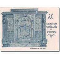 Billet, Autriche, Strudengau, 20 Heller, Blason, 1920, SUP+, Mehl:FS 914Ib - Autriche