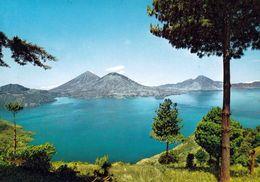 1 AK Guatemala * Der Atitlán-See - Er Ist Der Viertgrößte See In Guatemala - Krüger Karte * - Guatemala