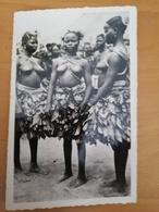 Cpa-Cameroun-Douala-collection Ethnographique Pauleau-1er Phase De L'initiation De L'excision Chez Les M'Baka Mandja-... - Cameroun