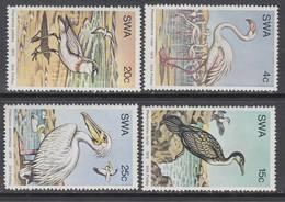D90819 South West Africa 1979 SEA BIRDS = Pelicans Flamingos Etc MNH Set  - SWA Namibia Namibie Sudwes Afrika - Namibië (1990- ...)