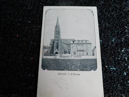 Heyst, L'église, Brasserie St-Georges, 1902  (W7) - Heist