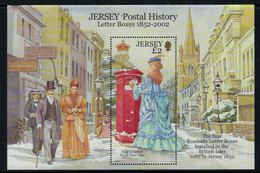 Jersey 2002 // Histoire Postale, Bloc-feuillet No.1059 Y&T Neuf** MNH - Jersey