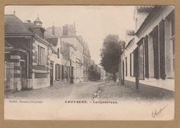 Kruibeke  CRUYBEKE. - Langestraat  Drukh. Trouvez, Cruybeke  (1904) - Kruibeke