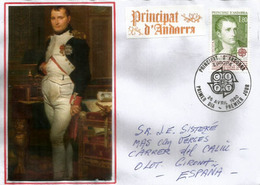Decret Imperial Par Napoleon (1806) Retablissant La Co-Principauté D'Andorre. FDC ANDORRA. - Napoléon
