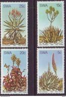D90819 South West Africa 1981 PLANTS ALOES CACTII MNH Set - SWA Namibia Namibie - Namibië (1990- ...)