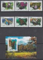 2014.170 CUBA MNH. HF. 2014. PROTECCION FLORA Y FAUNA. WILDLIFE PROTECTION. FLORES. AVES. FLORES. BIRDS. ANIMALS. - Ongebruikt