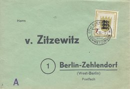 Germany.  Used Cover.   H- 7 - [7] Federal Republic