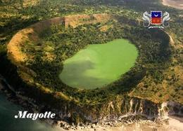 Mayotte Crater Aerial View New Postcard - Mayotte