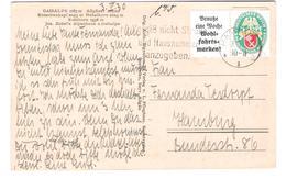 Deutschland - Alpenhaus Zur Gaisalpe - Allgäuer Alpen - Nebelhorn - Rubihorn - Nice Old Stamp`s - 1930 - Andere