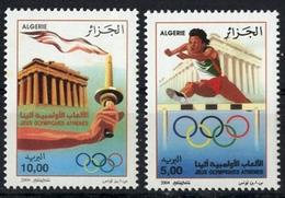 Année 2004-N°1359/1360 Neufs**MNH : Jeux Olympiques  D' Athènes - Algeria (1962-...)