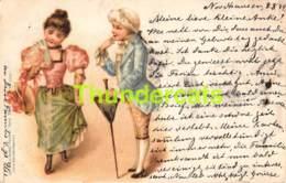 CPA LITHO 1899 ENFANTS ANSTALT MUNCHEN - Illustrateurs & Photographes