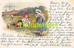 CPA LITHO ENFANT ENFANTS CHILDREN LITHO CARD - Illustrateurs & Photographes