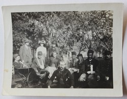 Photo Originale Soldat Zouave Tirailleur Blessés En Convalescents Guerre 1914 1918 WWI - 1914-18