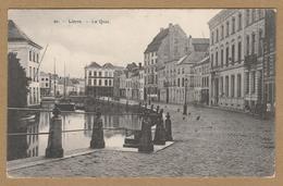 Lier  20.  - Lierre  - Le Quai  (1910). Geanimeerd. - Lier