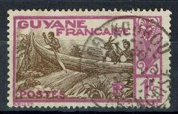 French Guiana, Maroni River, 1f., 1904, VFU Superb Postmark From Kourou - French Guiana (1886-1949)
