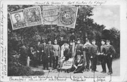 Pays-Bas - Op Thoogst Punt Van Nerland.Gruiten Uit Nederland,Duitschland,België,Neutraal-Gebiet -Douaniers 1919 - Vaals