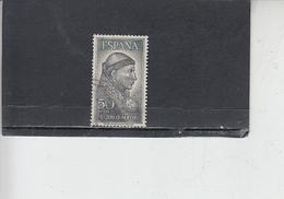 SPAGNA 1963 - Unificato  A 295 - Jimenez - Usati