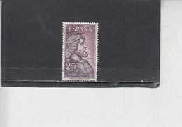 SPAGNA 1963 - Unificato  A 294 - Riccardo I - Usati