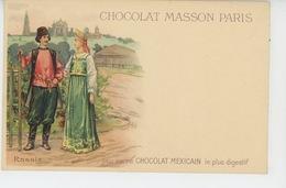 RUSSIE - RUSSIA - Carte PUB Pour CHOCOLAT MASSON PARIS - Russie