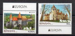 ROUMANIE - ROMANIA - EUROPA - 2017 - CHATEAUX - CASTLES - SCHLÔSSER - - 1948-.... Républiques