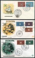 1963 Europa C.E.P.T. , L'annata Completa Di F.D.C. - Europa-CEPT