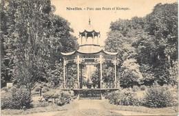 Nivelles NA47: Parc Aux Fleurs Et Kiosque 1920 - Nijvel