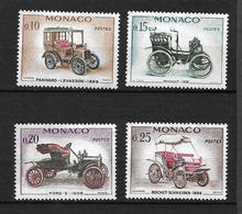 """MONACO  1961  Lot 4  Timbres  N° De 562 à 565 """"  Rétrospective Automobile""""  NEUFS - Monaco"""