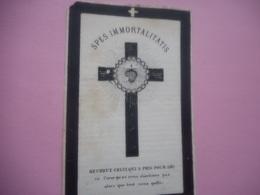 D.P.-PULCHERIE-S.OOGHE +YPRES 24-12-1879-92 ANS - Godsdienst & Esoterisme