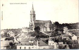 53 - MONTSURS -- Eglise - France