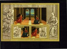 Blocs & Feuillets N° 90 **--L'Annonciation--2005-- Timbres N° 3838 Et 3839 - Neufs