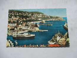 CP Nice Le Port Et Le Courrier De Corse Sortant Du Port - Nice