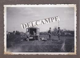 LA MINIERE  SATORY  VERSAILLES Années 1930 - Photo Originale De L'installation De La Transmission Militaire ( Yvelines ) - Guerre, Militaire