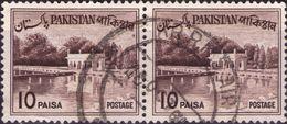 PAKISTAN 1961 - GIARDINI DI SHALIMAR - 2 VALORI USATI - Pakistan